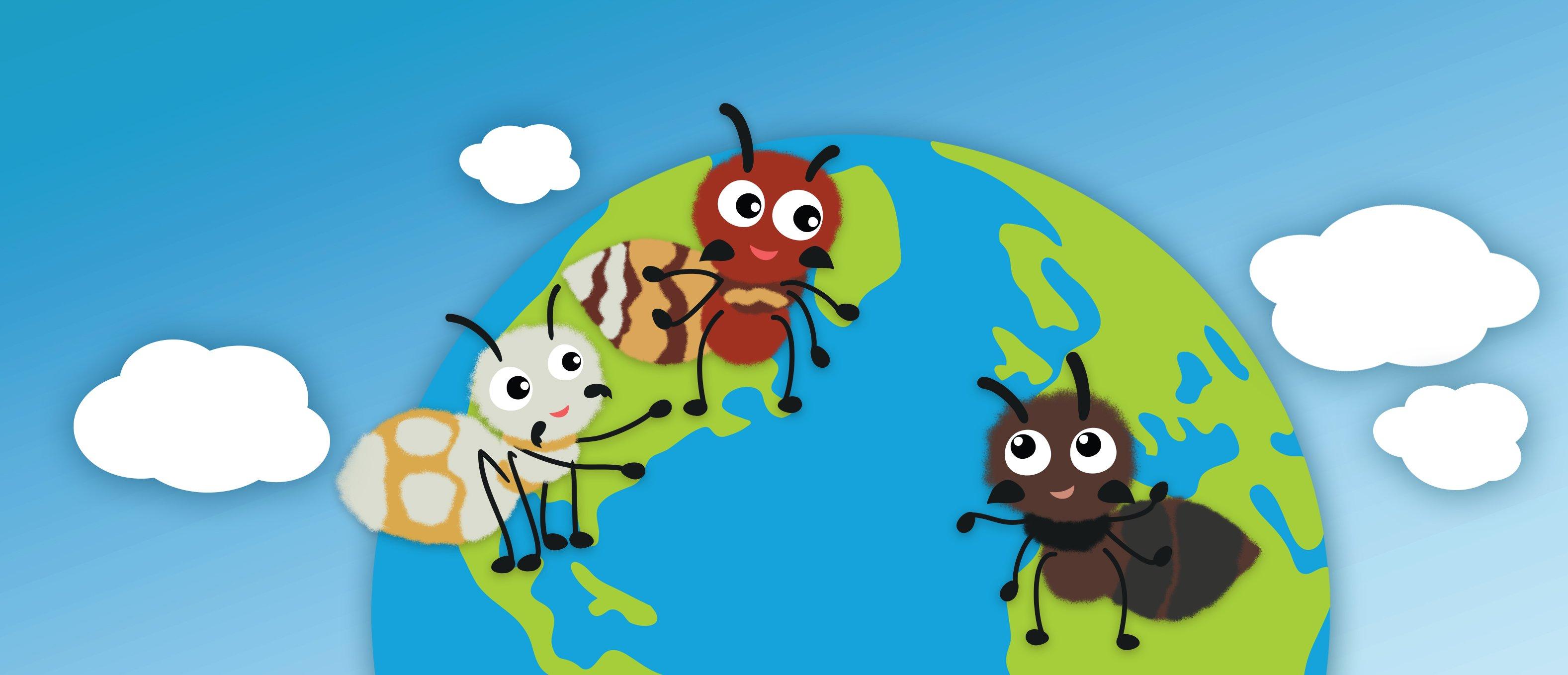 картинки муравьишки для оформления пары растет сын